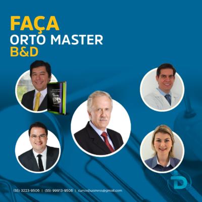 CURSO MASTER B&D DE ORTODONTIA