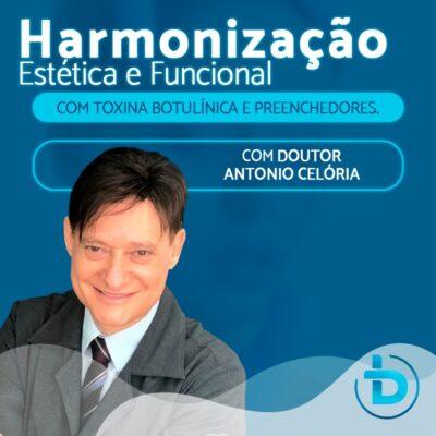 HARMONIZAÇÃO ESTÉTICA E FUNCIONAL COM TOXINA BOTULÍNICA E PREENCHEDORES