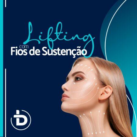 LIFTING COM FIOS DE SUSTENTAÇÃO